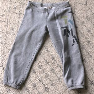 TNA cropped joggers